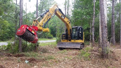 Pond Bank Brush Clearing Boom Mowing Ditch Mowing